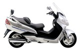 Thumbnail 2003 Suzuki AN400 Burgman Scooter Workshop Repair Service Manual