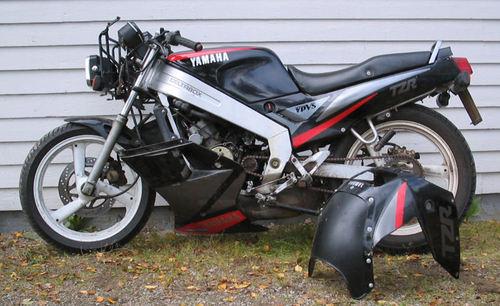 Product picture 1987-1993 Yamaha TZR125, 1988-2002 DT125R Workshop Repair Service Manual