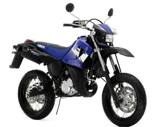 Product picture 2004-2009 Yamaha DT125RE, DT125X Motorcycle Workshop Repair Service Manual